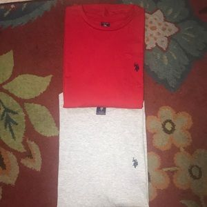 U.S. Polo Ralph Crewneck Shirts NEW